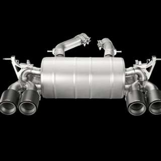Used Akrapovic Titanium Exhaust system for BMW M4