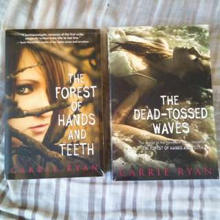 (2books for 150) The forest of Hand and Teeth by Carrie Ryan
