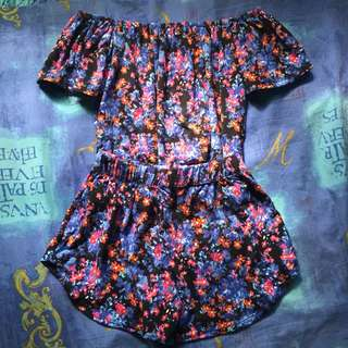 Floral Co-ords/ Terno