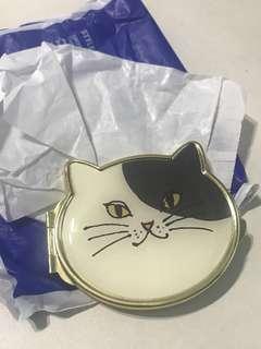 購於日本 精緻貓鏡盒