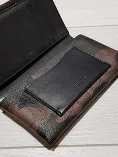 Coach limited edition phone holder cum wallet (New)