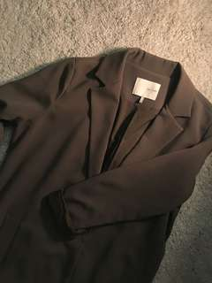 Oak and Fort Olive Light Trench Size Small