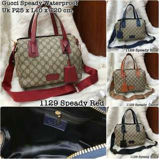 Gucci 1129 Speady Waterproof  Semi Premium   Uk P25 x L10 x T20 cm…  HARGA:  @180rb (PROMO)