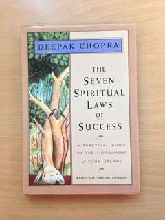 Deepak Chopra The Seven Spiritual Laws of Success Hardback