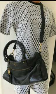 Repriced! Authentic Prada Two way Nappa bag-Selling low