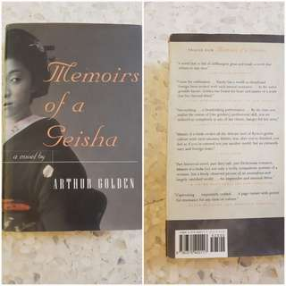 Memoirs of a Geisha - hardcover