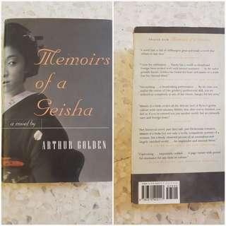 Memoirs of a Geisha - hardcover