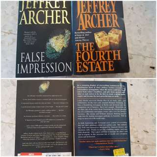Jeffrey Archer  - sold as a set