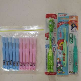 $1- $4each: Toothbrushes for Preschoolers 3-6yo (Different prices)
