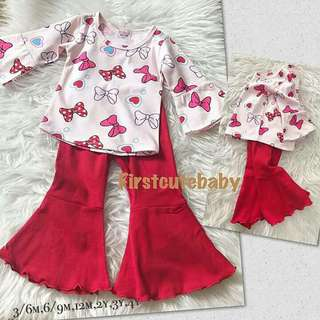 Palazzo with blouse