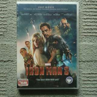 DVD Iron man 3 just movie original