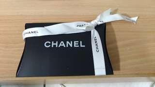 🚚 #超取半價#CHANEL 專櫃小禮盒+緞帶