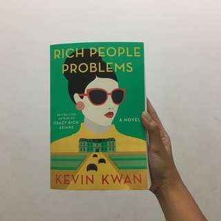 Rich People Problems by Kevin Kwan (Signed Copy)