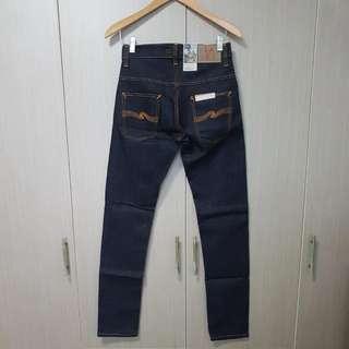 Sale! Nudie Jeans Thin Finn Dry Dark Orange