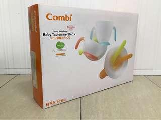 BNIB Combi Baby Tableware Step 2