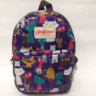 Tas ransel mini CK ungu cat/tas anak perempuan