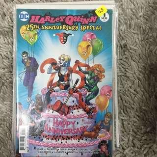 Harley Quinn 25th Anniversary Dc Comics #1 One-Shot Edition