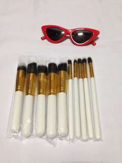 Kabuki 10pcs make up brush