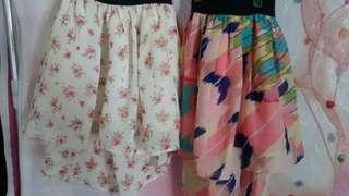 Buy 1 Get 1 Longback Skirts For Kids