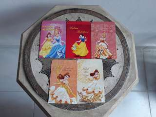LIMITED EDITION PRINCESS MONEY ENVELOPES