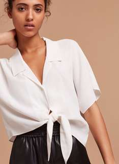 Aritzia Wilfred free Huang blouse