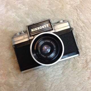 Nikkorex Vintage Film Camera
