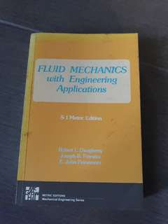 Fluid Mechanics with Engineering Application