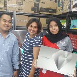 Laptop Asus Zenbook UX360UAK di kredit bisa loh gan..