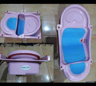 REPRICED!!! (from Php500) Adjustable Bath Tub (PINK)