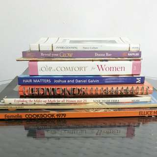 Assorted Books for sale