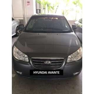 HYUNDAI AVANTE $350/WEEK