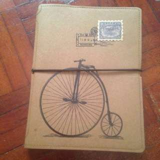 Bicycle A5 notebook