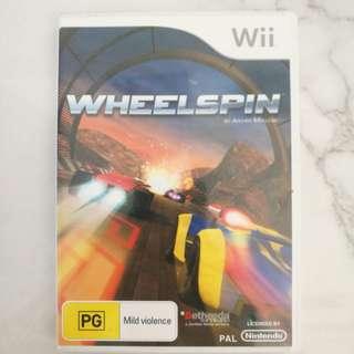 Nintendo Wii Wheelspin