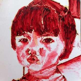 Acrylic on Artcard