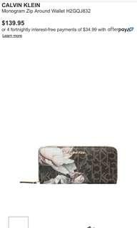 Calvin Klien Wallet