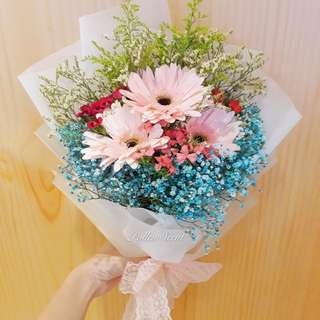 3 stalk Flower Bouquet