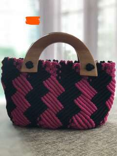 Braided small bag