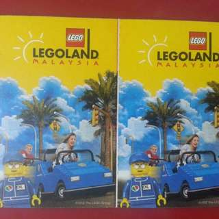 6 x LEGOLAND COMBO TICKET