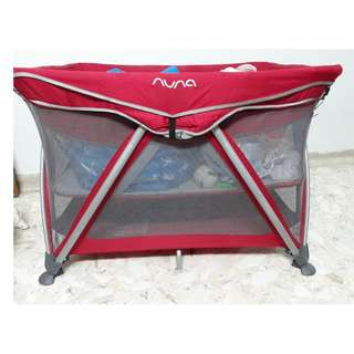 Baby Cot ( RED )