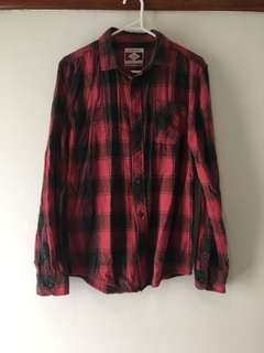 Red and Black Flanel