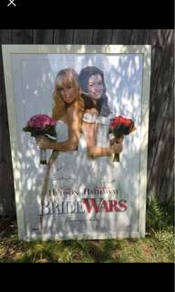 Poster signed by KATE Hudson, Anne Hathaway and KATE Hudson's son