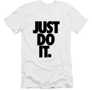 Tshirt just do it size S white