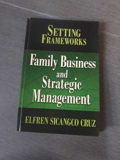 Family Business and Strategic Management