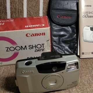 vintage canon camera film