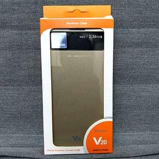 V20 Original Quick Cover Case (Gold)
