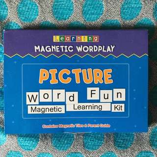 Magnetic Wordplay - Picture Word Fun Learning Kit
