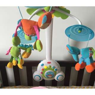Tinylove Cot mobile / Cot music toy / Crib music toy with night light