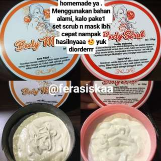 Body Mask n Body Scrub
