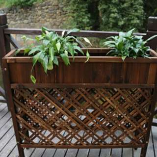 Beautiful Plant Stand with Partition