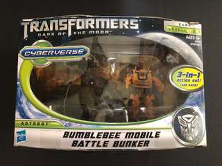 Transformers bumblebee dark of the moon